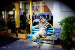 Charlie statue