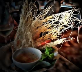 prawns in noodles