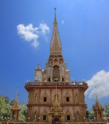 Wat Chalong 3 - images of Thailand