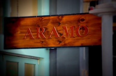 Aramo Coffee Cuba street Wellington NZ