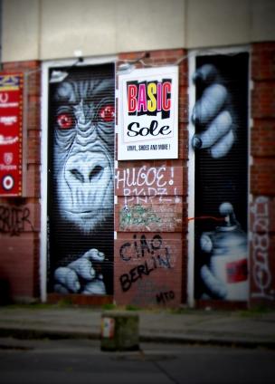 Monkey art Berlin